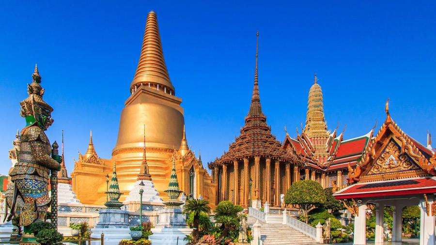 Thailandia - Il tempio del Budda di smeraldo, il più sacro della ...